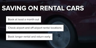 Plan ahead to rent cars this summer