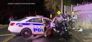 Good Samaritans save California police officer from burning car