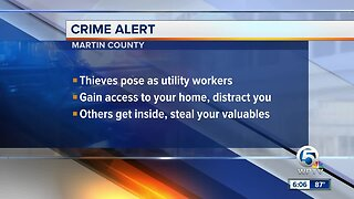 Martin County deputies urge people to lookout after 'distraction crimes'