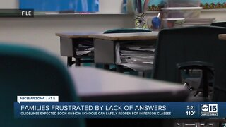 Valley families frustrated by lack of answers regarding schools