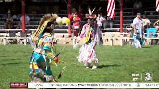 Annual pow wow offers connection, healing for Winnebago Tribe