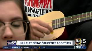 Ukulele program helping students in Peoria