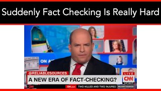 Trump Leaves Office And Suddenly Fact Checking Is Hard