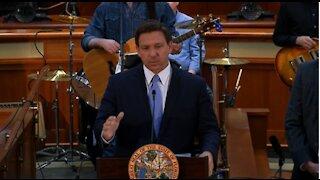 Florida Governor Ron DeSantis Says No to Vaccine Passports