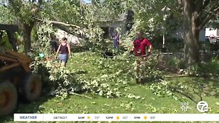 Here are the reports from 3 tornadoes in Southeast Michigan Saturday night