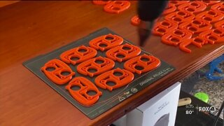 Florida entrepreneur creates contactless solution for your keychain