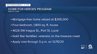 Port St. Lucie accepting applications for 'Homes for Heroes' program