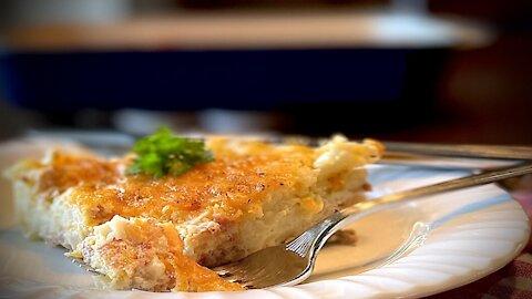Hearty 4-ingredient breakfast casserole recipe