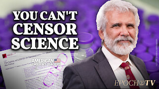 Dr. Robert Malone: mRNA Vaccine Inventor Speaks Out Against Big Tech Censorship| CLIP