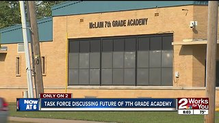 North Tulsa Task Force holds open meeting to discuss future of McLain 7th Grade Academy