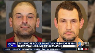 Second suspect arrested in rash of arson fires in Southwest Baltimore
