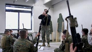 B-Roll: Infantry Marine Course: Week 1