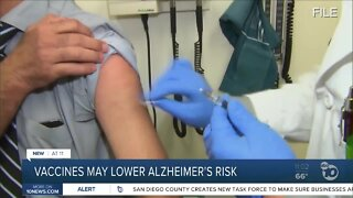 Study: Flu, pneumonia vaccines may lower risk of Alzheimer's