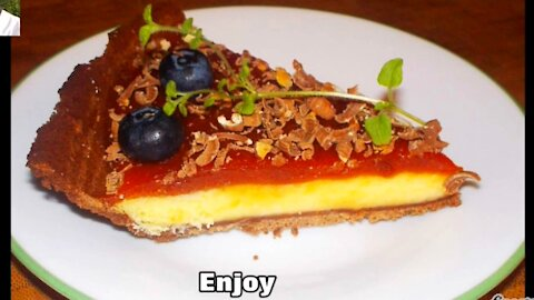 Cheesecake in Pie Shells with Guava Paste   Recipe by Chef George