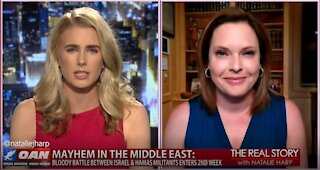 The Real Story - OANN Middle East Mayhem with Mercedes Schlapp