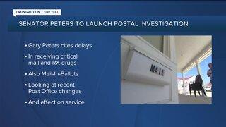 Senator Peters to launch postal investigation