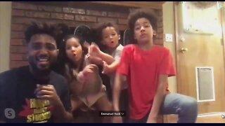 Hurd family dancing through pandemic