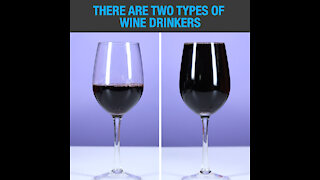 Two types of wine drinkers [GMG Originals]