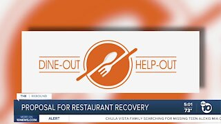 Proposal to help restaurant owners and diners