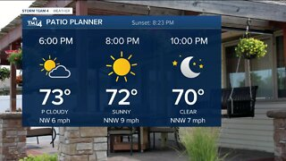 Great evening ahead Wednesday