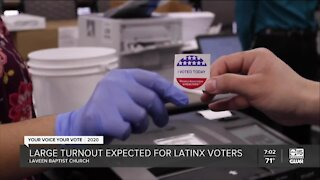 Large turnout expected for LatinX voters in Arizona