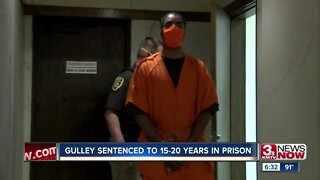 Gulley sentenced to 15-20 years in prison