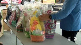 Hundreds of Easter baskets donated in Riviera Beach