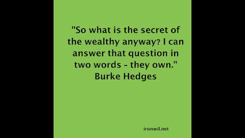 Hedges, Wealth
