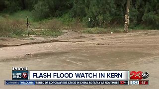 Heavy rainfall causes flooding in parts of Arvin