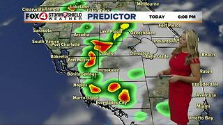 FORECAST: Warm & Humid with Scattered Storms