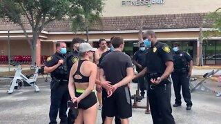 Florida gym owner arrested again