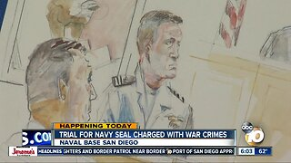 More testimony in accused Navy SEAL's trial