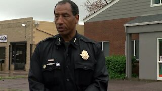 DPD provides update on police shooting.