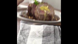 Beef Tenderloin with Plantain Puree