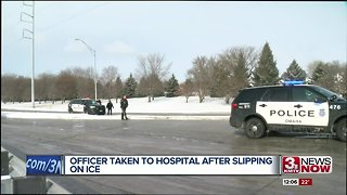 Omaha Police officer injured