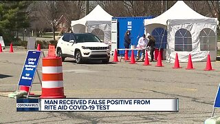 Man received false positive from Rite Aid COVID-19 test