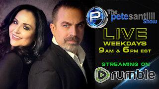 Pete Santilli Show LIVE! Subscribe To Rumble.com/PeteLive