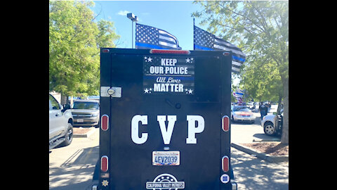 """California Valley Patriots """"Back The Blue """""""