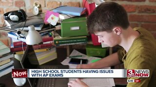 High school students having issues with AP exams