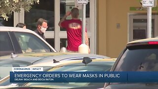 Masks now a requirement in Delray Beach