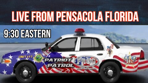 Live from Pensacola Florida at 9:30 pm est.