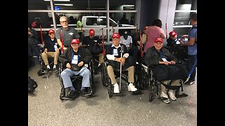 Las Vegas valley veterans head to Washington D.C. for 'Honor Flight'