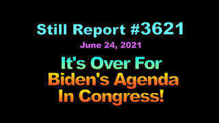 It's Over For Biden's Agenda in Congress, 362b