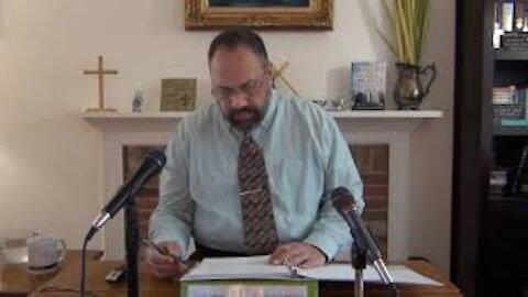 3/28/21 Eschatology #5: A Palm Sunday Review