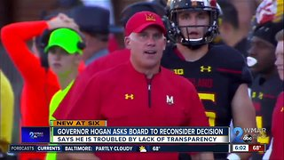 UMD students outraged with football decision