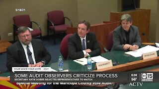 Views differ on Maricopa County election audit process