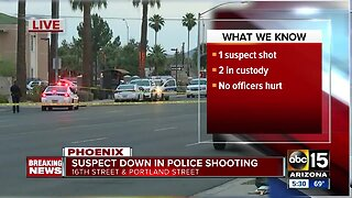 Officer-involved shooting near 16th Street and Portland