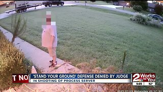 'Stand Your Ground' defense denied by judge