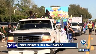 MLK Day parade held in Fort Pierce