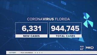 Coronavirus cases in Florida 11/24
